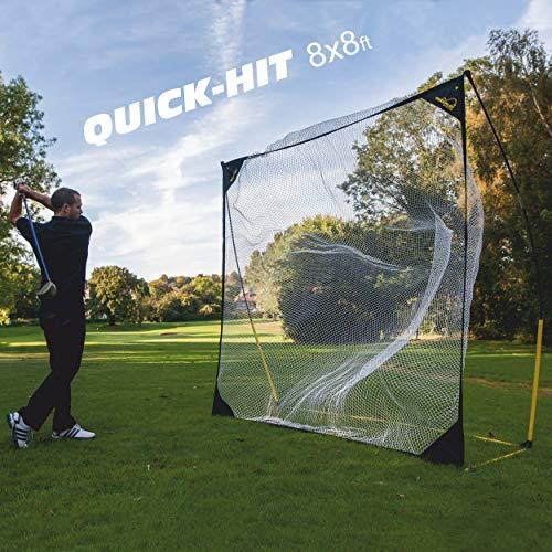 QUICKPLAY Quick-Hit 8 x 8' Multi-Sport Hitting Net