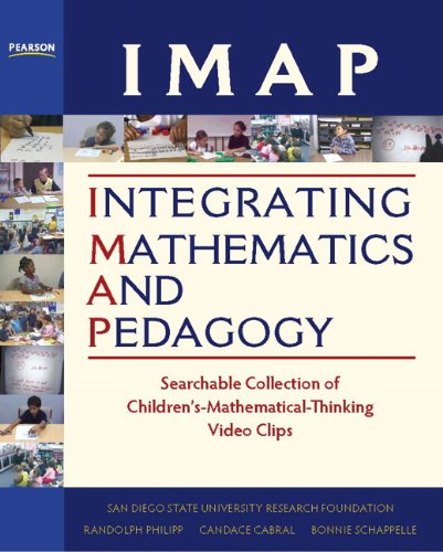 IMAP Integrating Mathematics and Pedagogy: Searchable Collection of Children's Mathematical Thinking Video Clips and Fac