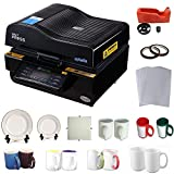 3d heat press - 3D Vacuum Heat Press Machine Sublimation Transfer Mug Plate Tile T-shirt CISS Tape Printing Business