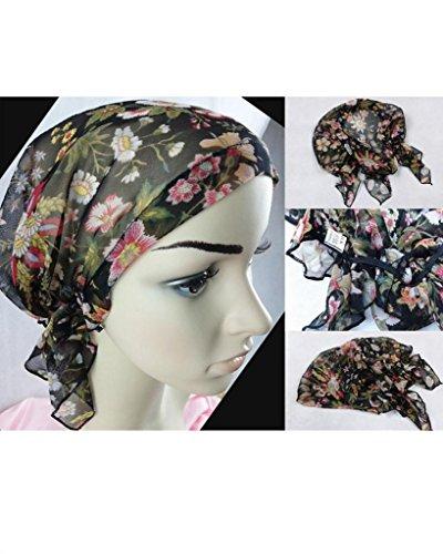 Yangtze Pure Silk Night Sleep Cap Sleeping Cap Hat