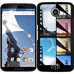 Funda para Motorola Nexus 6 - Puente Golden Gate by Christine aka stine1