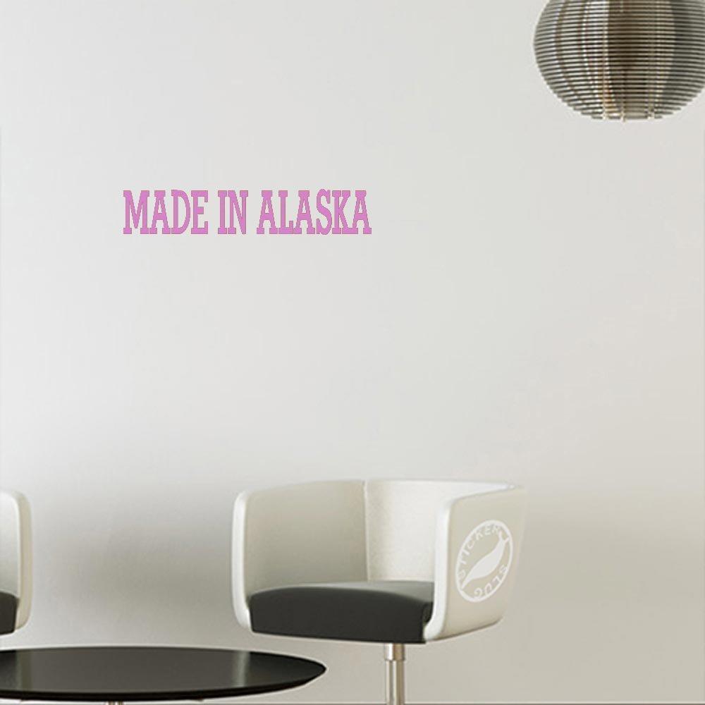 【2018秋冬新作】 Made In Alaskaデカールステッカー 5 inch inch 5 ピンク z-eb-0990-mattepink-5 5 5 inch マットピンク(壁用) B010IPKKFQ, 十四山村:96707140 --- a0267596.xsph.ru