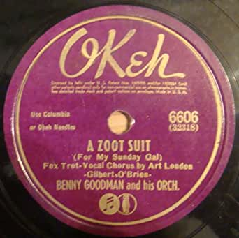 Benny Goodman And His Orchestra Okeh Vintage 78 Rpm