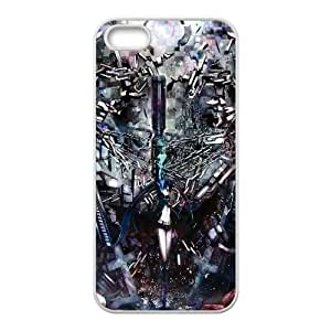 Black Rock Shooter Anime1 iPhone 4 4s Cell Phone Case White yyfabb-177262