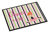 Caroline's Treasures Ballet Dance is my Life Red Doormat, 18 H x 27 W'', Multicolor