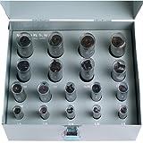 TTC #18 108 Pc 1/8'' - 21/32'' x 32nds Blind Hole Spotter Set