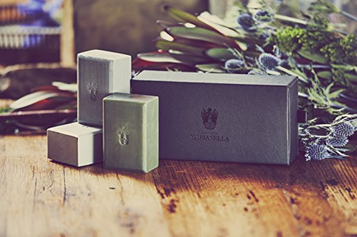 Musk Collection Bar Soaps Set, Luxury Soaps for Men including Almond, Oak Moss, Rosewood Bar Soaps
