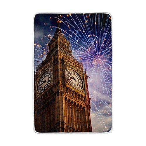 ALAZA Cooper girl Fireworks Around Big Ben Throw