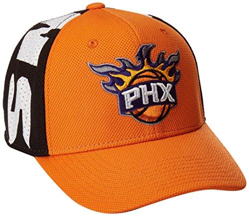 fan products of NBA Phoenix Suns Men's City Name Meshback Flex Fit Hat, Orange, Large/X-Large