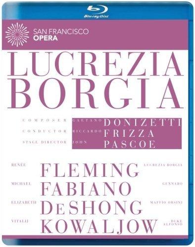 Blu-ray : Riccardo Frizza - Lucrezia Borgia (san Francisco Opera) (Blu-ray)