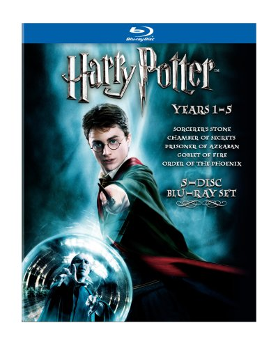Harry Potter Years 1-5 [Blu-ray] by Warner Manufacturing