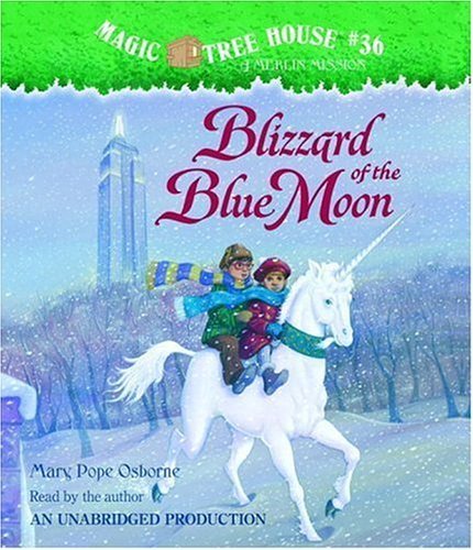Magic Tree House #36: Blizzard of the Blue Moon by Brand: Listening Library (Audio)