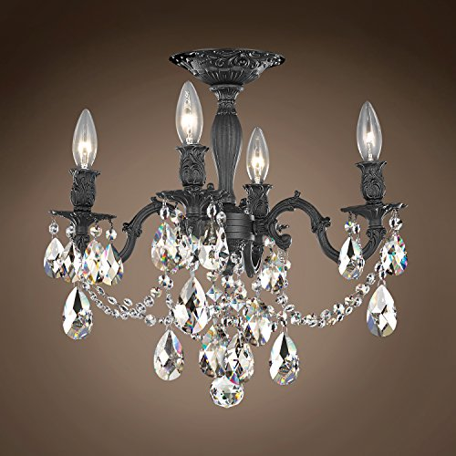 (Joshua Marshal 701585-066 - Traditional Versailles 4 Light 17