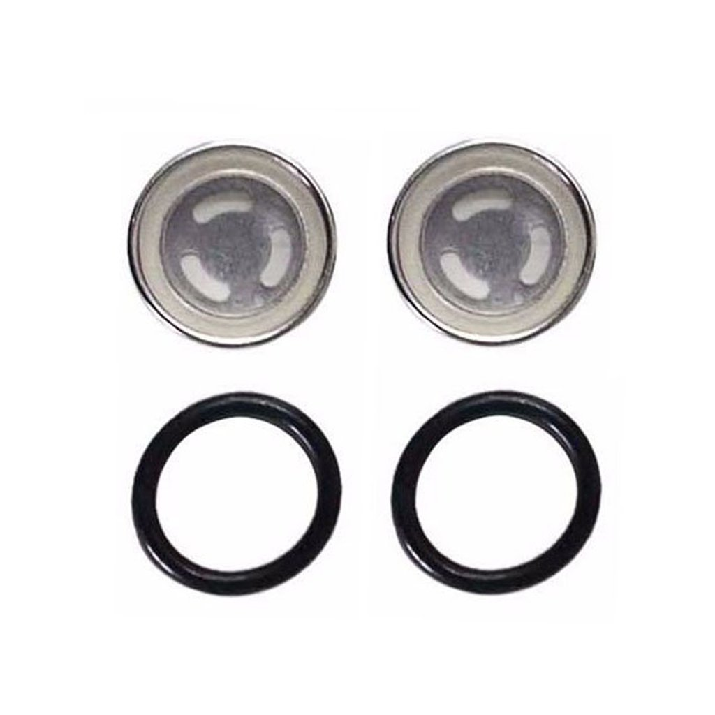 HURI 2set Brake Master Cylinder Sight Glass with O Ring for Honda TRX400FW TRX450FE TRX500FE TRX125 TRX250 TRX300 TRX350