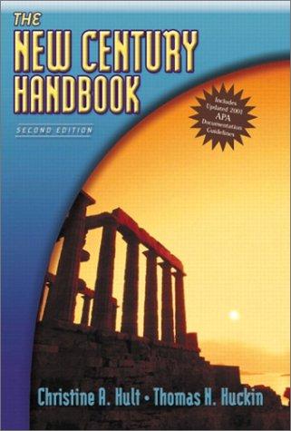 The New Century Handbook, APA Update (2nd Edition)