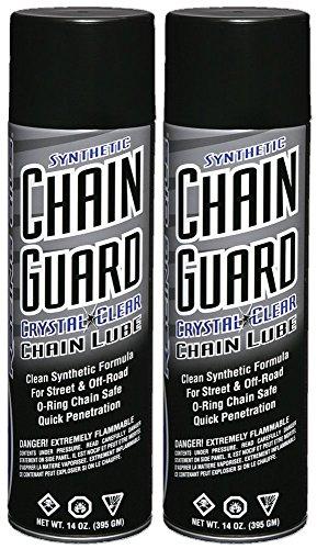 Maxima Racing Oils 77920-2PK Synthetic Chain Guard 14 oz, 2-Pack, 27. Fluid_Ounces