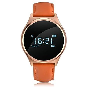 aktivitätstracker Herzfrequenz - Smart Watch - Rastreador de fitness Running Smart Reloj kalori Tensiómetro de llamadas en Finder anti de Lost móvil reloj: ...