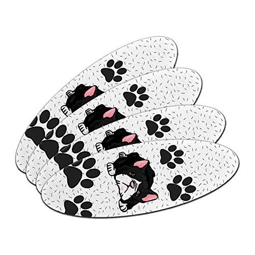 Boston Terrier of Awesomeness Double-Sided Oval Nail File Em