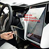 TeslaHome Car Tempered Glass 9H Anti-Scratch and Shock Resistant Touch Screen Protector for Tesla (for Tesla Model S/X)