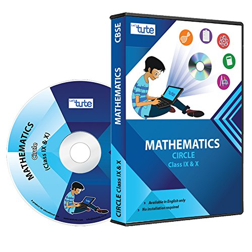 d10b4b1a1e77 Letstute Circles For Class IX and X (DVD) - Mathematics (DVD)  Amazon.in   Software