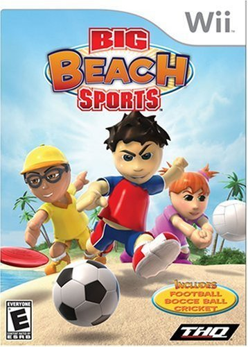 Big Beach Sports Wii (Big Beach Sports - Nintendo Wii by THQ)