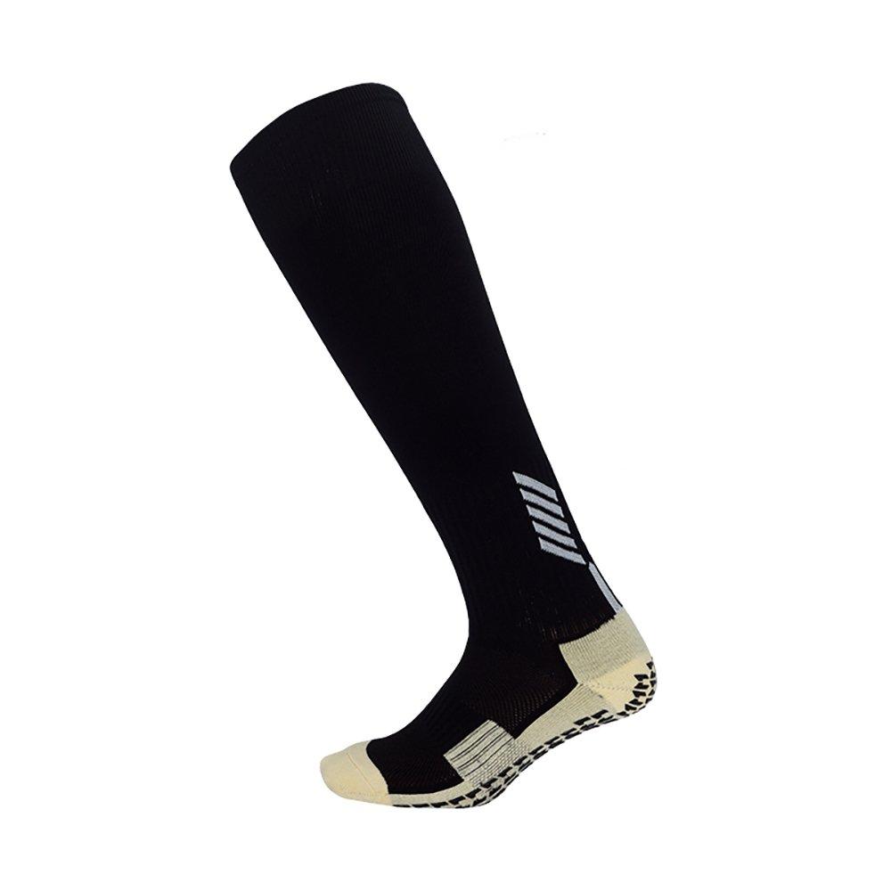 Dee Plus Rutschfeste Fu/ßball Socken Stutzenstr/ümpfe Kompression Basketballsocken//Yoga Socken Noppen Sohle Damen /& Herren Socken Anti Rutsch Socken Stoppersocken Noppensocken kniel/änge