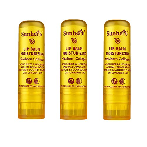 Sunherb Collagen Multi-functional essence repair lip balm 3 Pack 0.15oz