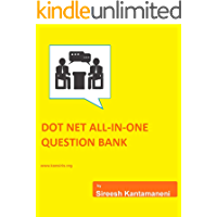 DOTNET ALL-IN-ONE QUESTION BANK FOR INTERVIEWS: DOTNET, C#, ASP.NET, MVC, Angular,React,SQL server, Javascript (KS Book 1) (English Edition)
