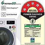 LG 8 Kg Inverter Fully-Automatic Front Loading Washing Machine (FHT1208ZNW, White)