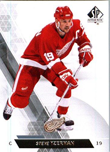2014 Upper Deck SP Authentic Hockey Card (2013-14) #46 Steve Yzerman - Detroit Red Wings MINT