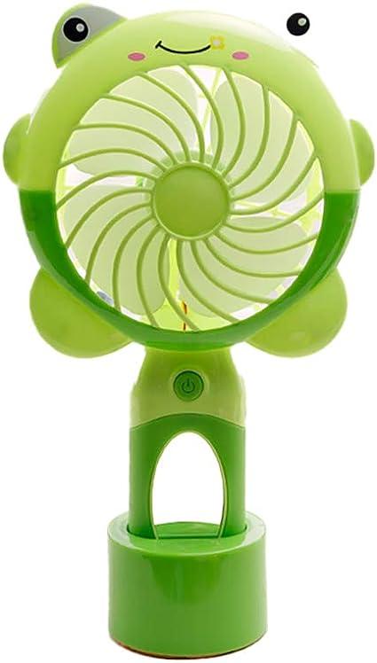 HUI JIN Mini ventilador portátil con silencioso ventilador de mesa ...