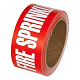 """INCOM Manufacturing Group PMR1032F Pipe Marking Tape, 2-Inch X 54-Feet,""""Fire Sprinkler Water"""""""