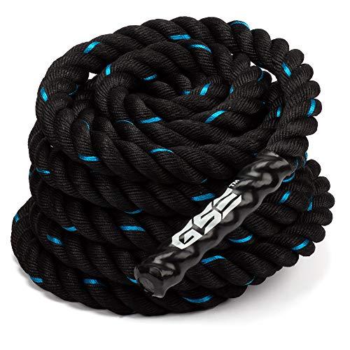 GSE Games & Sports Expert 30ft/40ft/50ft Exercise Training Battle Ropes