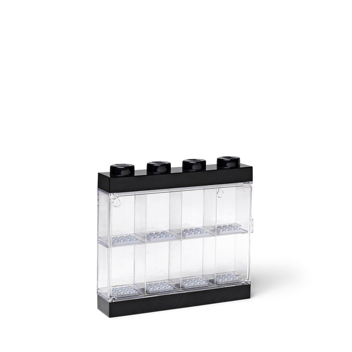 LEGO Mini Figia Display case / 8 Black 5711938023591