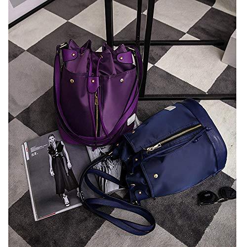 Crossbody Elegante Pezzi Casuale Fashion Funzionale Nylon Mhxzkhl Blue Borsa Red In Borsa Tre Cosmetica Versatile Borsa Impermeabile Romantica Combinazione Zaino Multi 7vFYxw