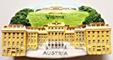 Schonbrunn Palace (Schönbrunn) Vienna Austria High Quality Resin 3D fridge Refrigerator Thai Magnet Hand Made Craft.