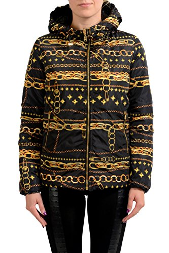 Versace Versus Reversible Goose Down Women's Parka Jacket US L IT 44; - Reversible Down Parka