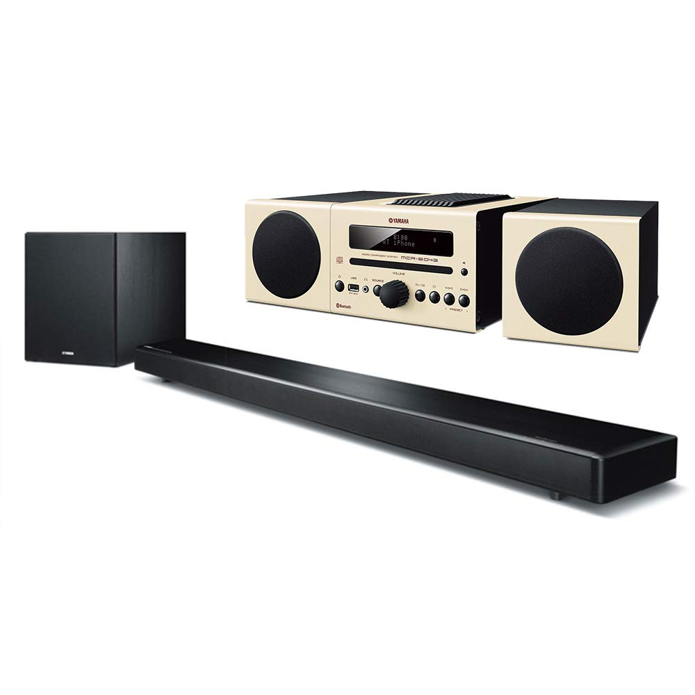 Yamaha - Barra de sonido ysp-2700 7.1 con subwoofer inalámbrico, wi-fi, airplay y bluetooth