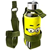 Outdoor Nylon Tactical Hiking Portable Water Bottle Holder Belt Carrier Pouch