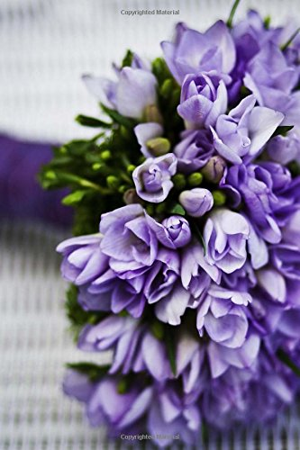 Read Online Beautiful Bouquet of Purple Flowers Journal: 150 Page Lined Notebook/Diary pdf