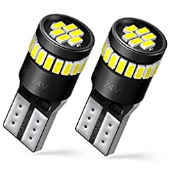 AUXITO 194 LED Bulbs 168 175 2825 W5W T1...