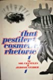 """That Pestilent Cosmetic, Rhetoric"", Sol Chaneles and Jerome Snyder, 0670697893"