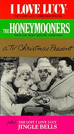 i love lucyhoneymooners tv christmas special vhs - I Love Lucy Christmas Special