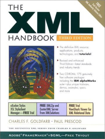 The XML Handbook (3rd Edition) by