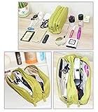 Urmiss Cute Makeup Bags Cosmetic Bag Travel Storage Bag Electronics Accessories Bag Phone Charger Case