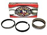 """Hastings CHEVY 332 355 383 SBC Plasma Moly Piston Rings +60 1/16 1/16 3/16. (4.060"""" Bore)"""