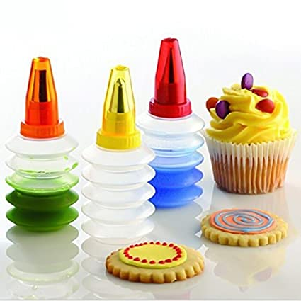 Buy 40set CookieCake Decoration Tool Icing Plastic Squeeze Bottles Cool Cookie Decorating Squeeze Bottles