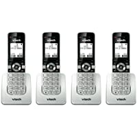 VTech UP407 Expansion Handset For Cordless Telephone System 4-Line 1.9GHz DECT 6.0 (4-Pack)