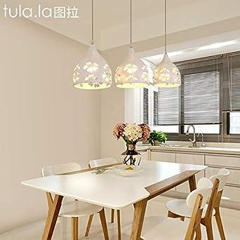Nuevo restaurante linterna tres dinning chandelier moderno simple ...