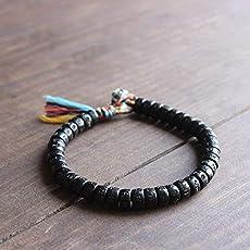 e61b436fc2 TALE Tibetan Buddhist Handbraided Lucky knots With Hand-Carved Six True  Mantra...  36.50. TALE Lucky Rope Bracelet Tibetan Buddhist Handmade Knots